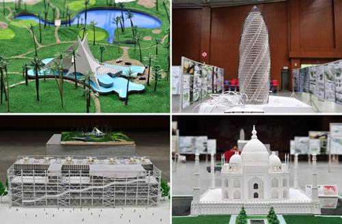 我校2012届艺术设计专业毕业设计作品展举行