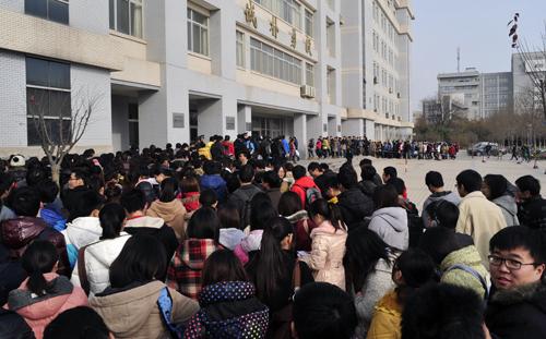 我校13391名同学参加全国大学英语四六级考试