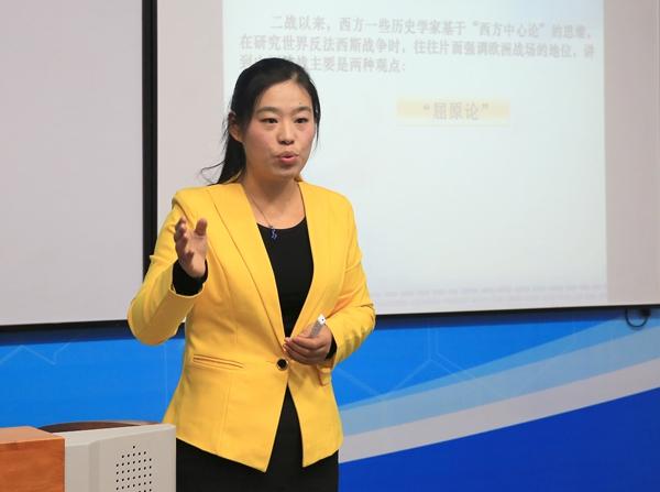 赵海霞,女,1982年4月生,河南西平人,中共党员,历史学博士,马克思
