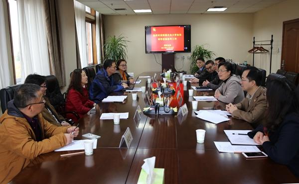 新疆农大副校长张小楠来校调研研究生培养工作